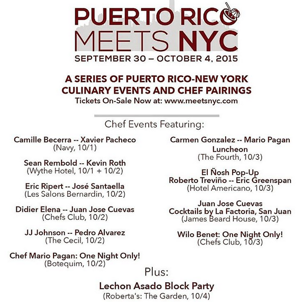 Schedule for MeetsNYC 2015