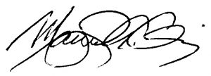 Manuel Chinea Signature